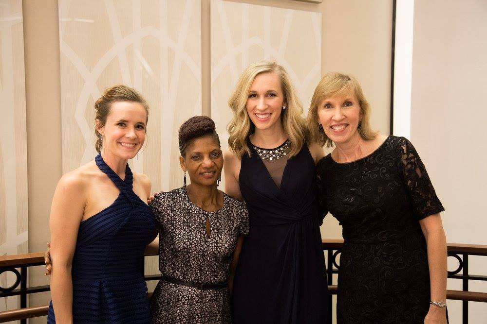 Myself, Elina, Amy & Kathy at our 2017 Gala for Hope