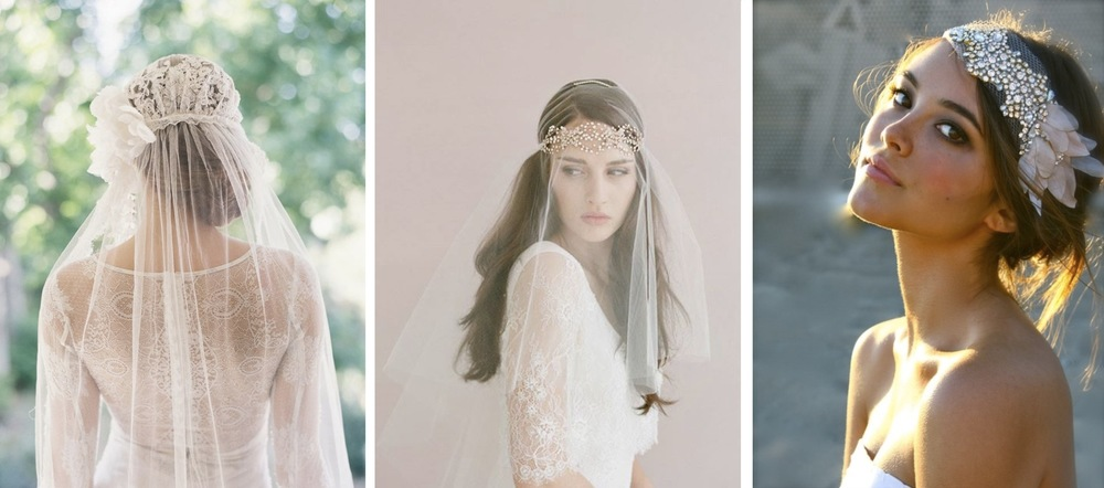 2014 Wedding Trends - Head Pieces