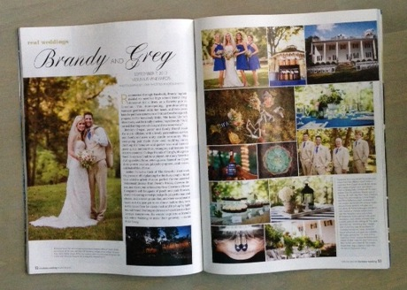Charlotte Wedding magazine - Published - The Graceful Host