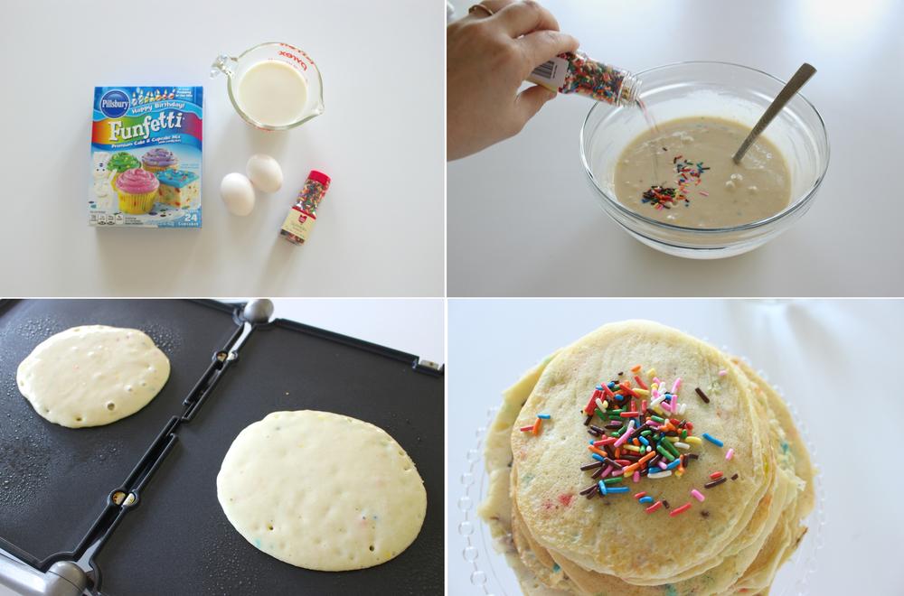 Funfetti pancake tutorial