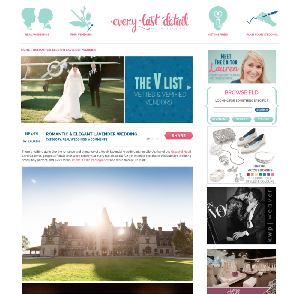 Mindy and Brett - Biltmore Estate Wedding - The Graceful Host