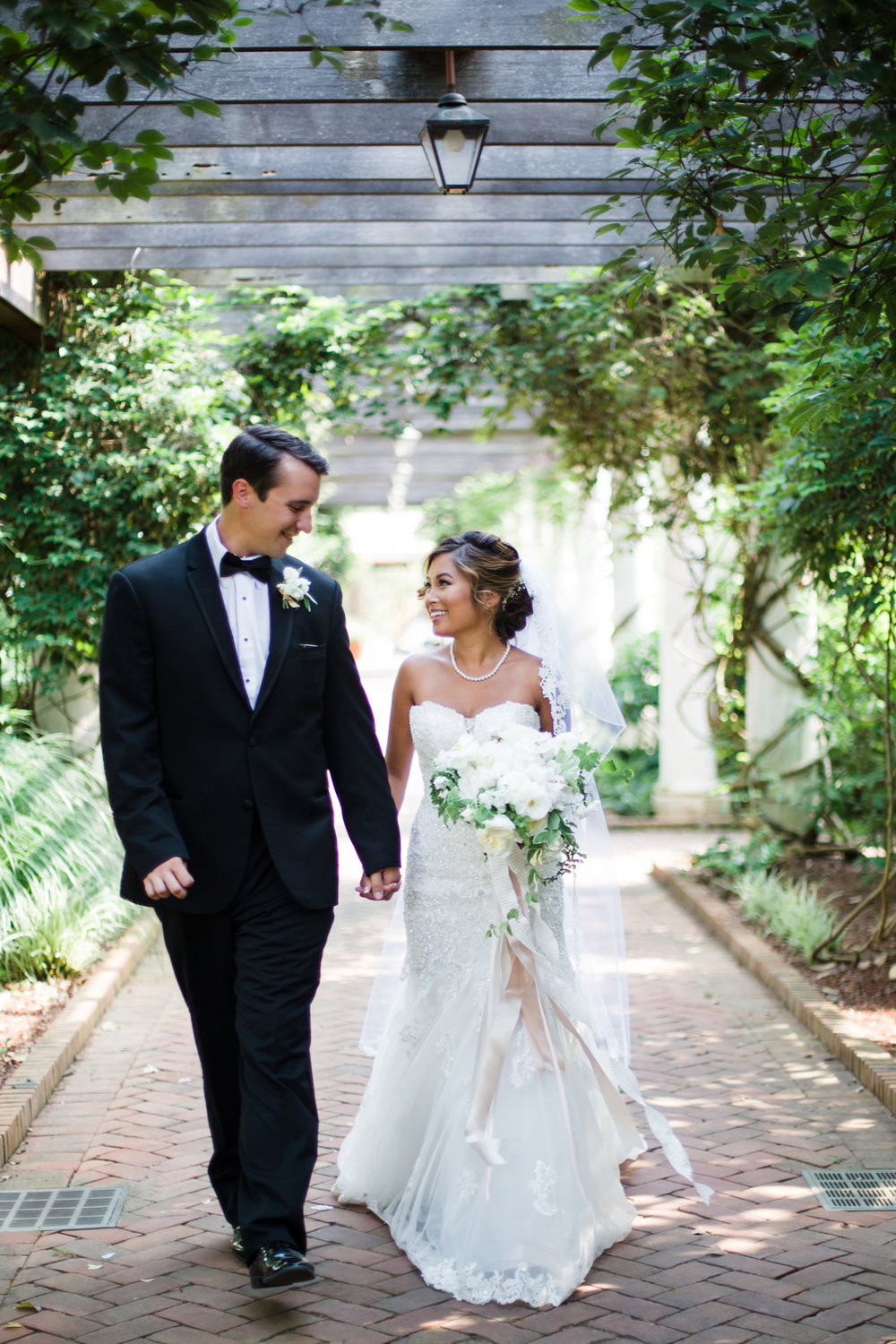 Daniel Stowe Botanical Garden - The Graceful Host - Charlotte, North Carolina Wedding