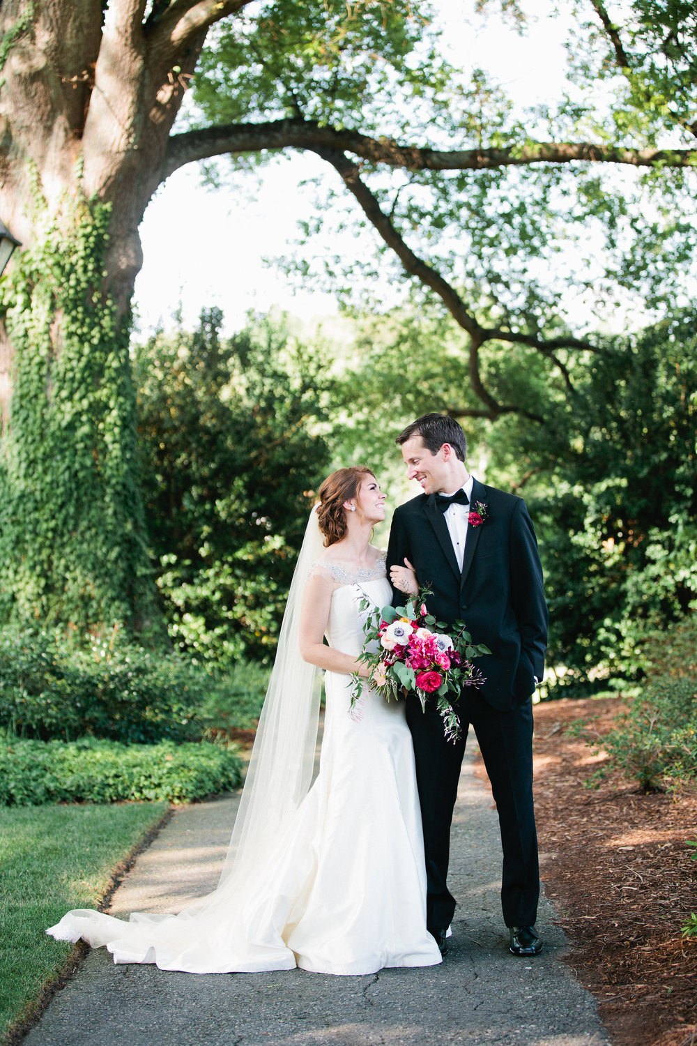 Charlotte Country Club Wedding - The Graceful Host - Charlotte, NC Wedding
