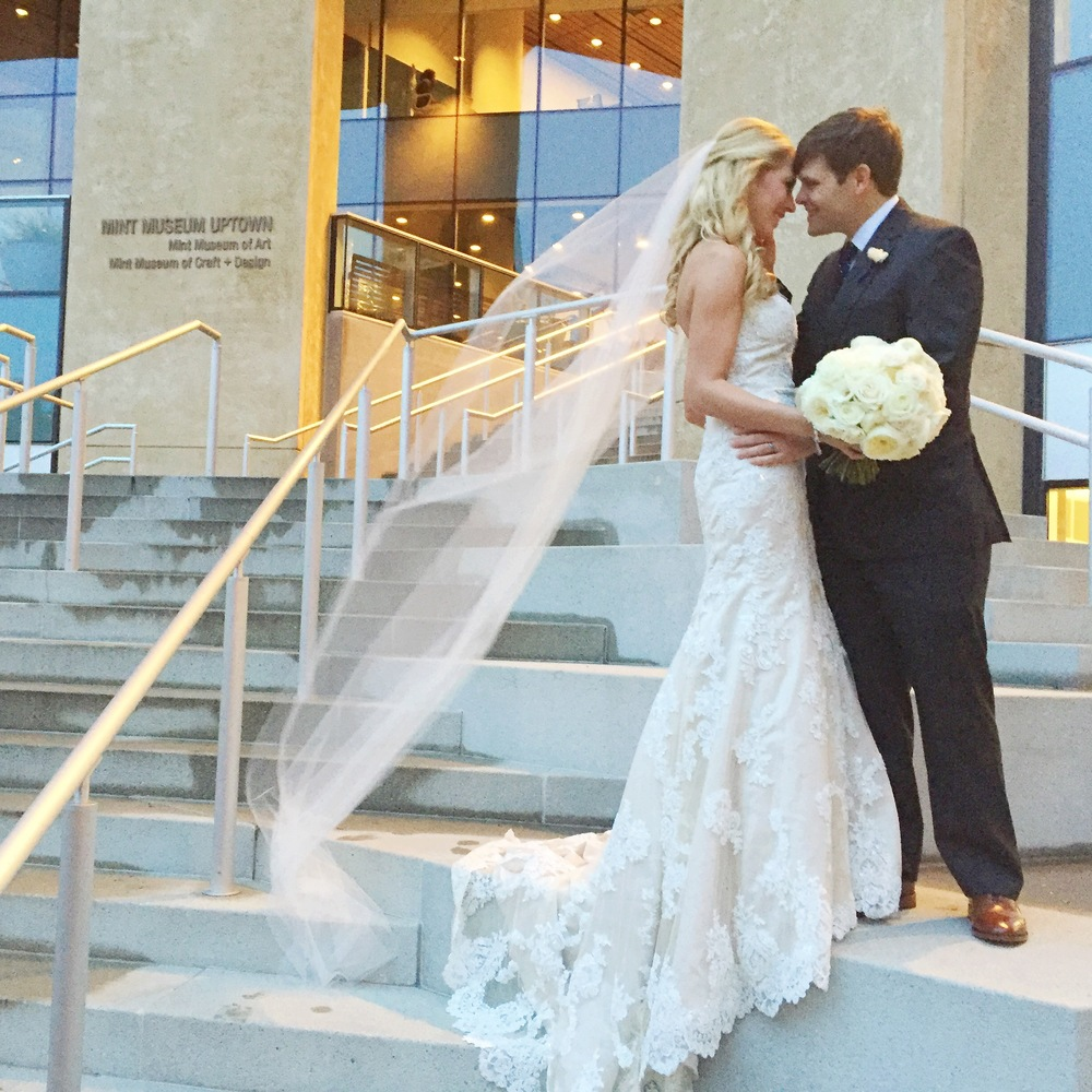 Mint Museum Uptown Wedding - The Graceful Host - Charlotte, NC Weddings