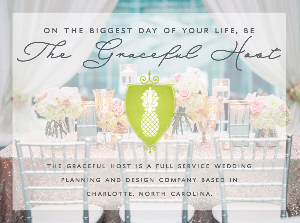 full service wedding planner in charlotte, north carolina
