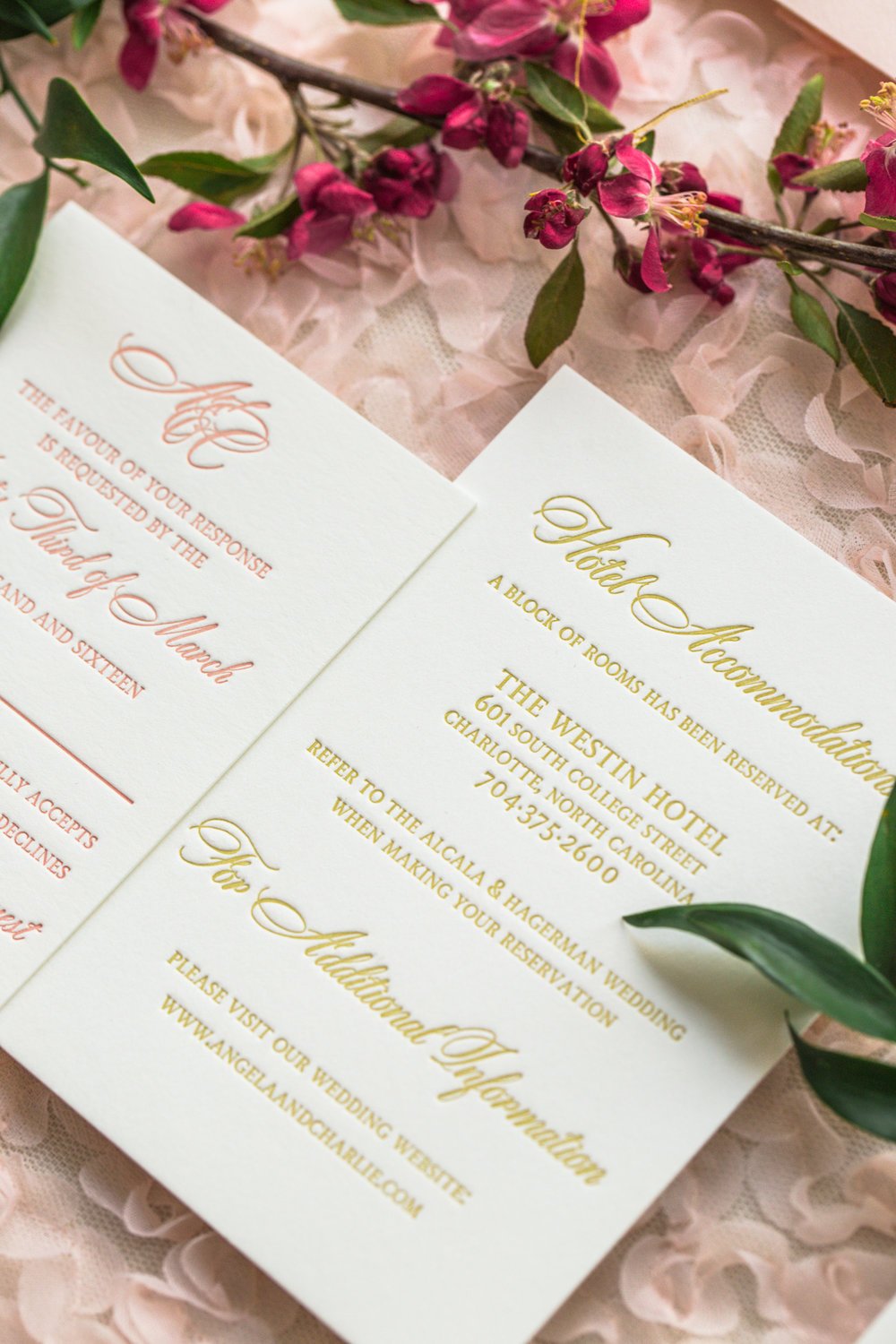 Invitation Suite by Elisabeth Rose | Photography by Lauren Rosenau Photography