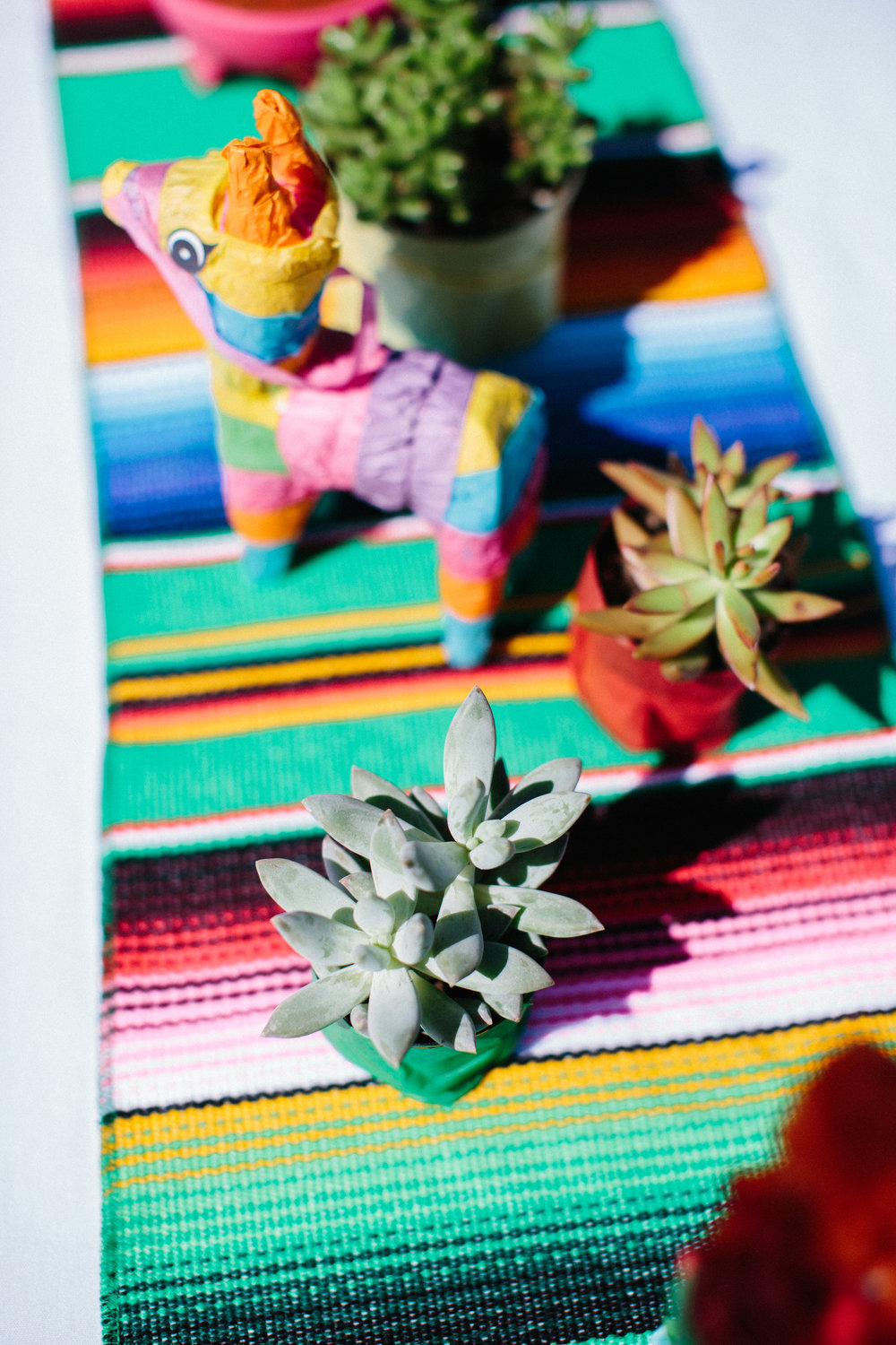 Fiesta first birthday party centerpieces cinco de mayo party