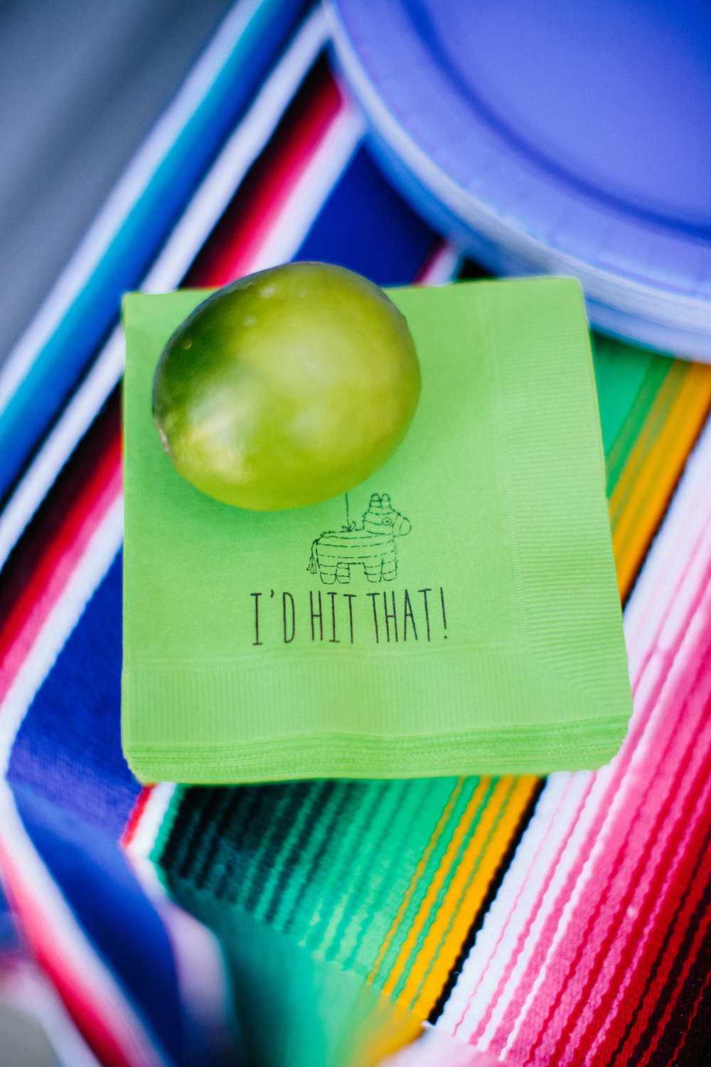Fiesta first birthday party cocktail napkins cinco de mayo