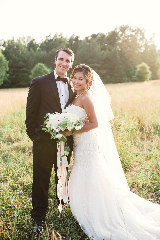 Christina + Zach - Daniel Stowe Bontanical Garden
