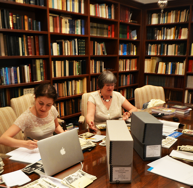 Members of the editorial board at work