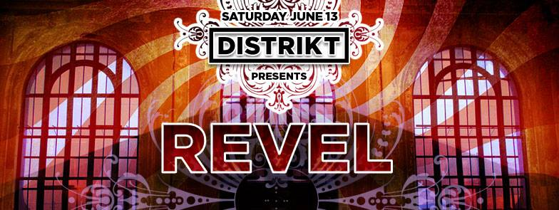Distrikt Revel Station 2015 flyer