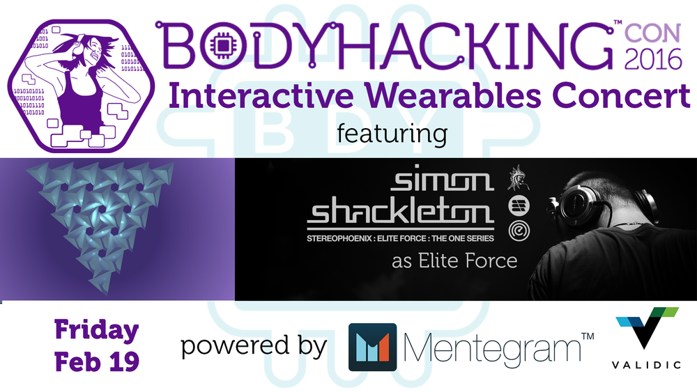 Interactive wearables show flyer
