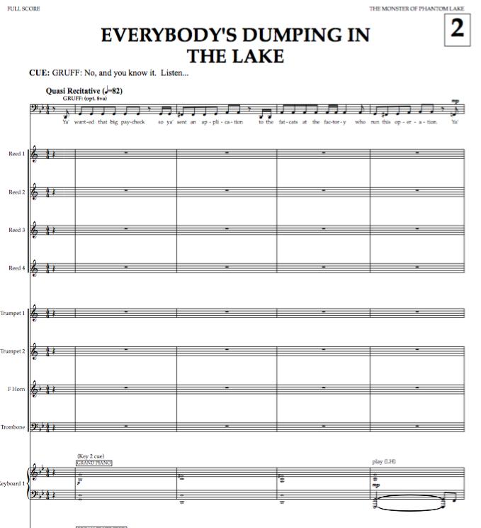 Full Score (excerpts)