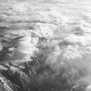 somewhere over Montana, flying back to PDX