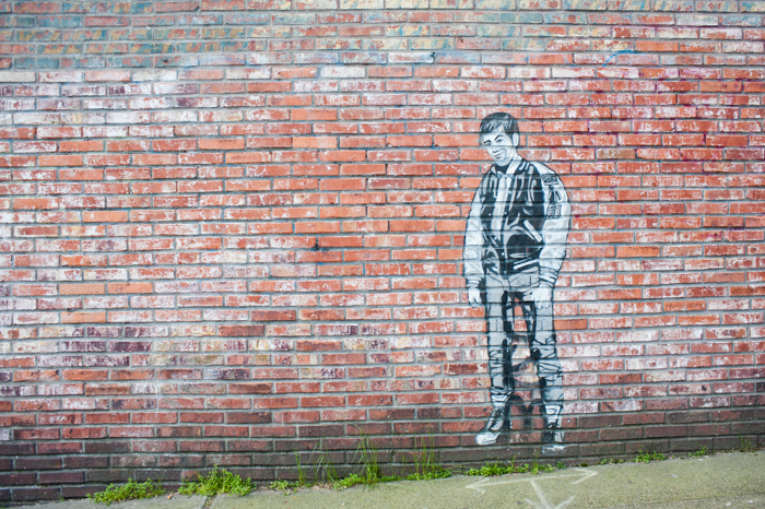 Bruce Lee stencil - more about this project here