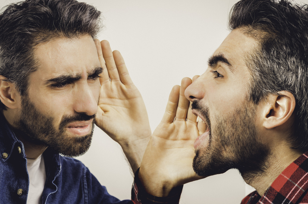 Sometimes the only option is to yell if they can't hear you. But most of the time it's best to use other ways of communicating unless we like being yelled at, which most of time is not the case.