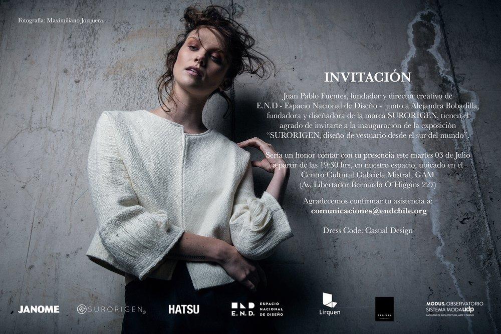 """Exposición """"Surorigen, diseño de vestuario desde el sur del mundo"""""""