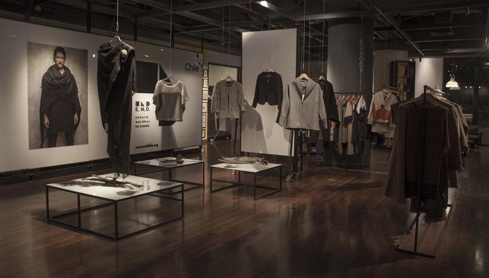 """EXPOSICIÓN""""Surorigen, diseño de vestaurio desde el sur del mundo""""Espacio Nacional de Diseño END - GAM -"""