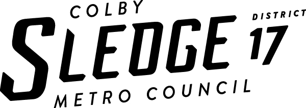 Colby Sledge for Metro Council - District 17