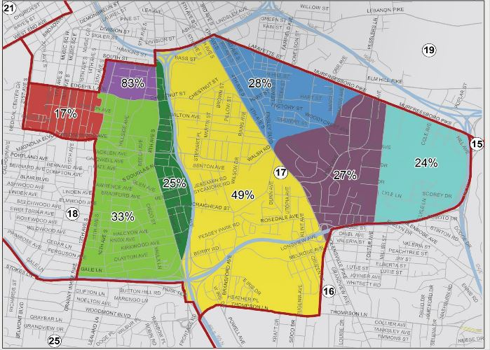 Click the Map Above for the Property Assessor's Presentation on District 17