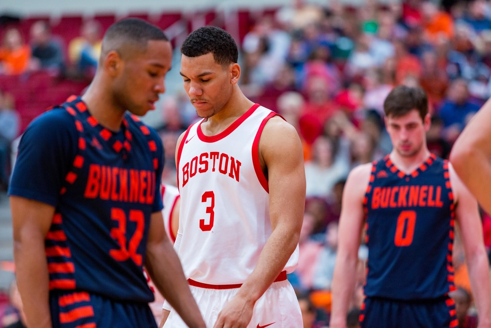 Boston University lost to Bucknell in the final minutes after winning for the entire game.