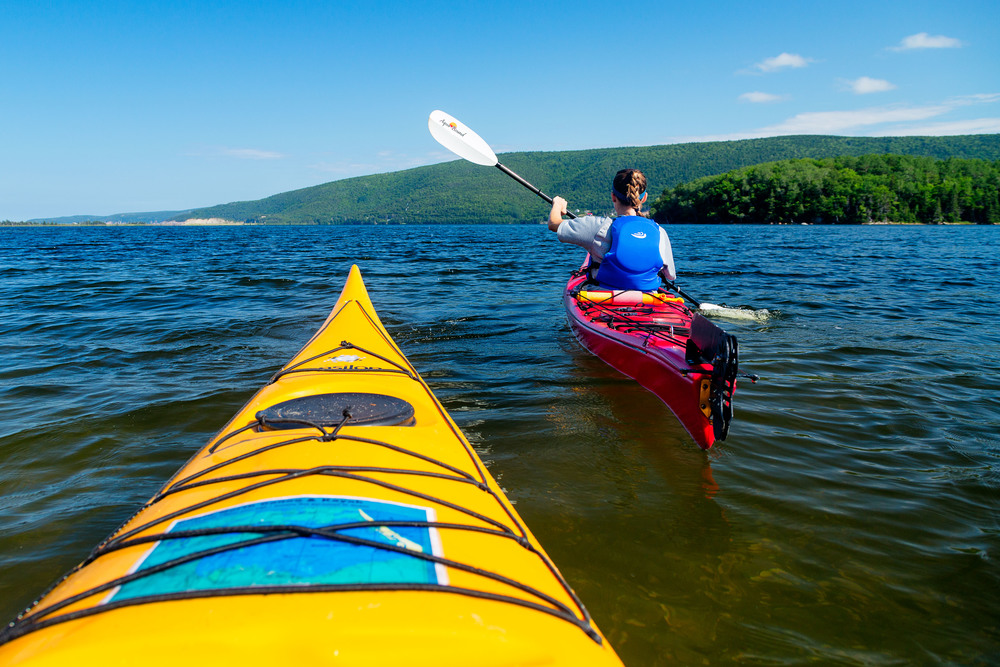 Kayaking in Cape Breton