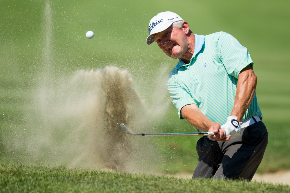Sand traps are bad for golfers, but great for photographers!
