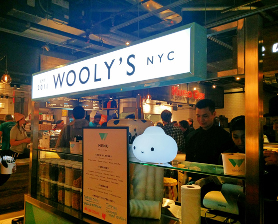 Wooly's Counter