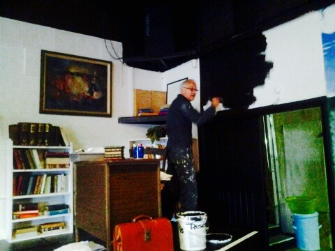 Ian Jones - creating the set