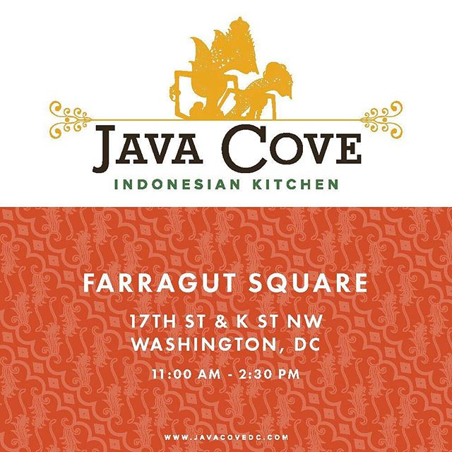 Hey, everyone! We'll be at Farragut Square today for lunch! See you there!