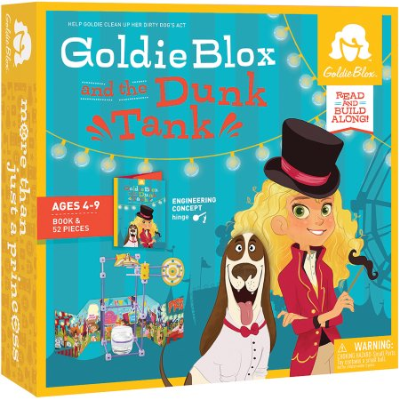 Goldie Blox and the Dunk Tank - Work-for-hire authorship for Goldie Box franchise.
