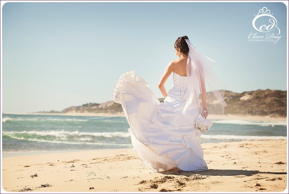 margaret river beach wedding
