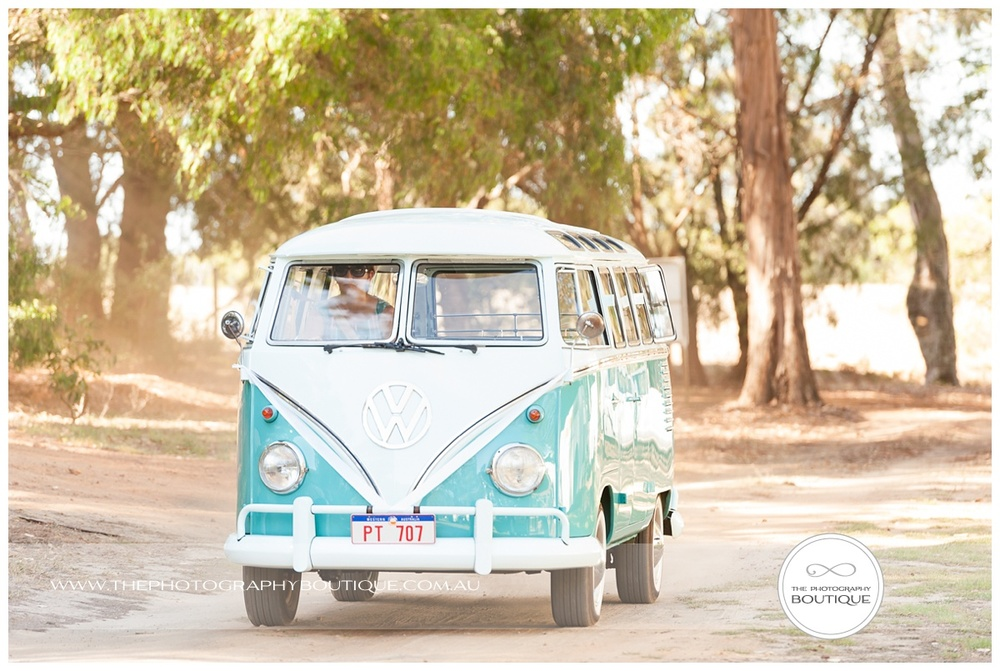 wedding kombi van margaret river