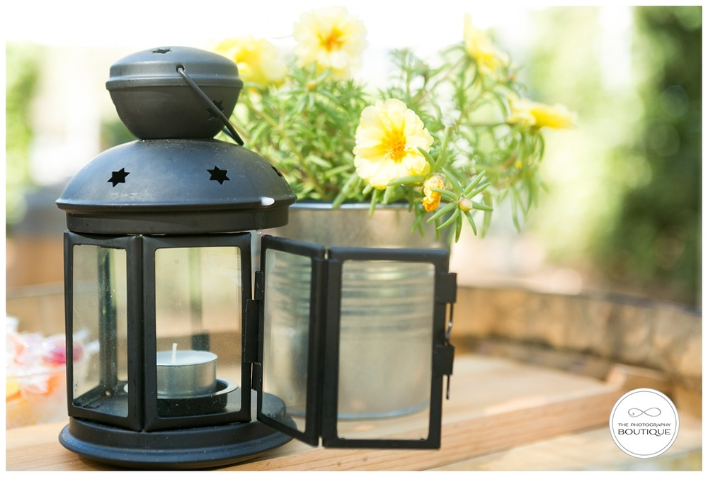 cute black wedding lanterns
