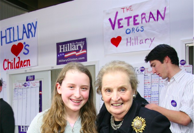 Meeting Former Secretary of State Madeleine Albright