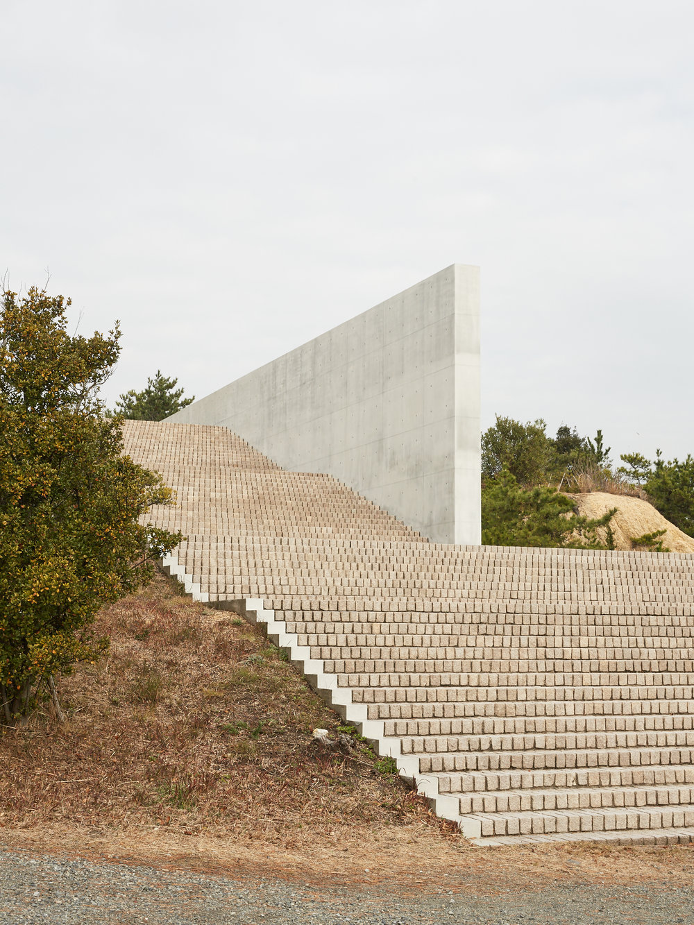 BENESSE HOUSE  Photographed for Home Magazine Tadao Ando Naoshima Island, Japan