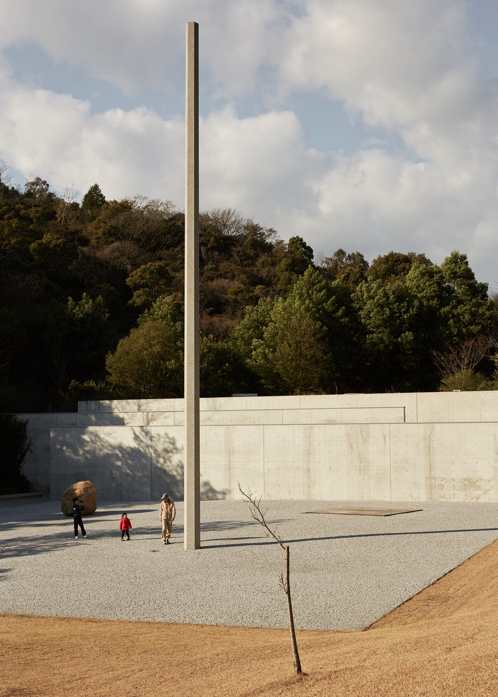 LEE UFAN MUSEUM  Photographed for Home Magazine Tadao Ando Naoshima Island, Japan