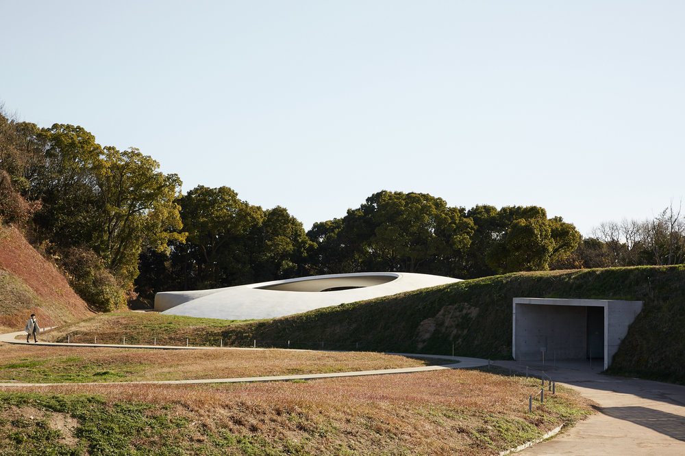 TESHIMA ART MUSUEM  Photographed for Home Magazine Rei Naito and Ryue Nishizawa Teshima Island, Japan