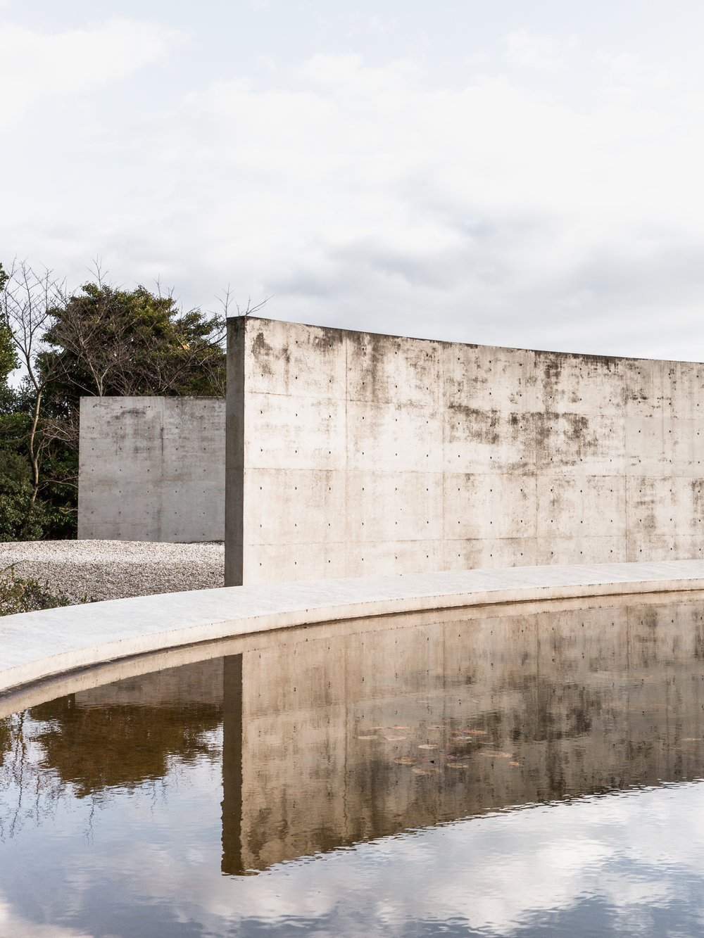 WATER TEMPLE  Photographed for Home Magazine Tadao Ando Awaji Island, Japan