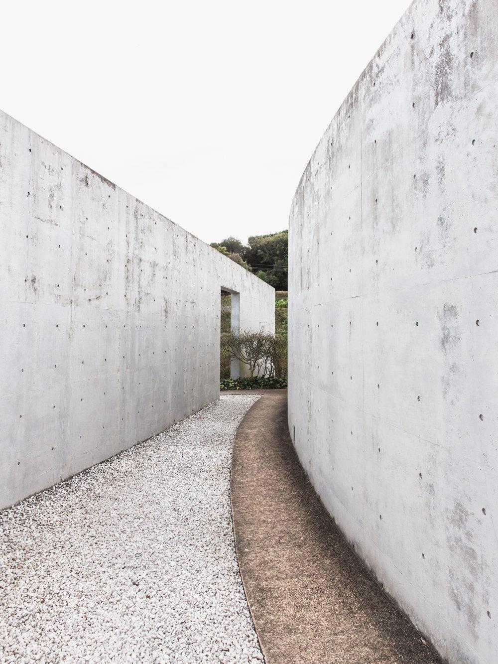 WATER TEMPLE  Photographed for Home Magazine Tadao Ando Awaji Island, Japan