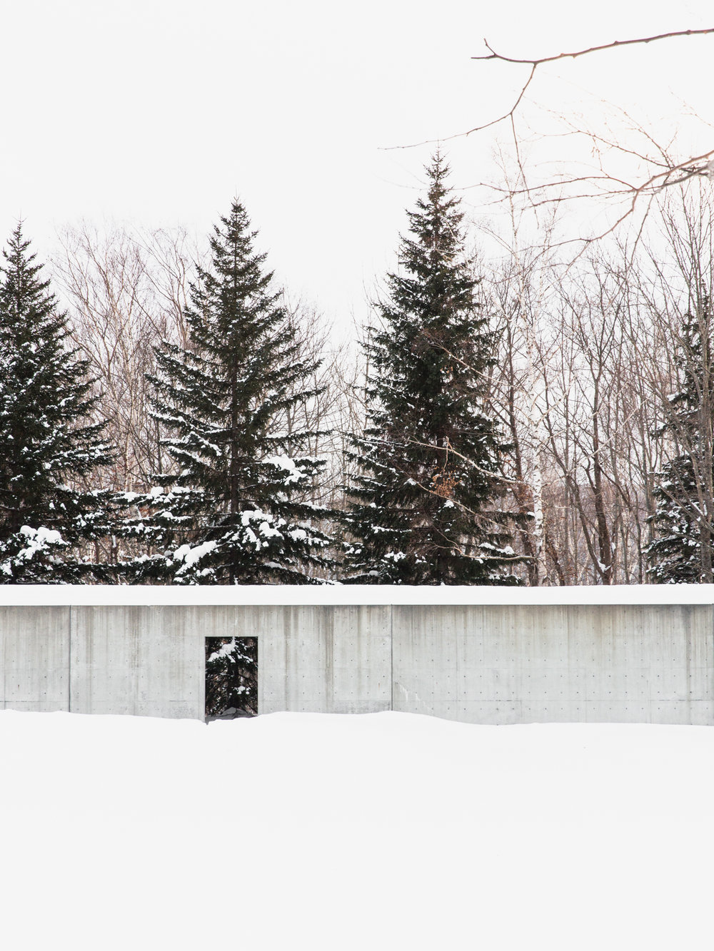 CHAPEL ON THE WATER  Photographed for Home Magazine Tadao Ando Haokkaido, Japan