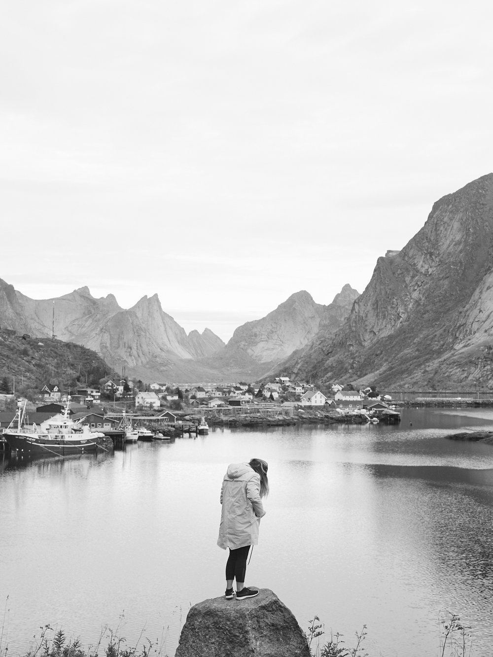 RAINS  Talia Carlisle Lofoten Islands Norway