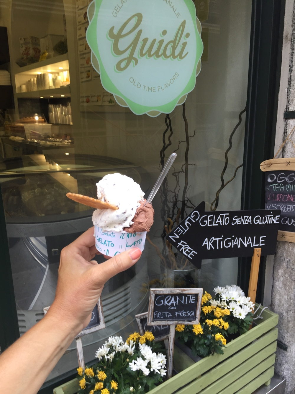 "And who can forget the GELATO!  I'm not ashamed to admit there were times we were on our ""walks"" just to go from one gelato shop to the next... #dontjudge"