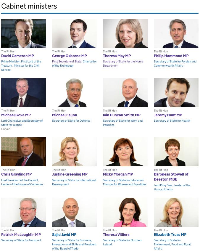 스코틀랜드에서 압도적인 승리를 거둔 Nicola Sturgeon 스코틀랜드 수상(SNP 당수)은 70년생(45세)이다. 실패한 Ed  Miliband 노동당 당수도 69년생(46세)이었다.