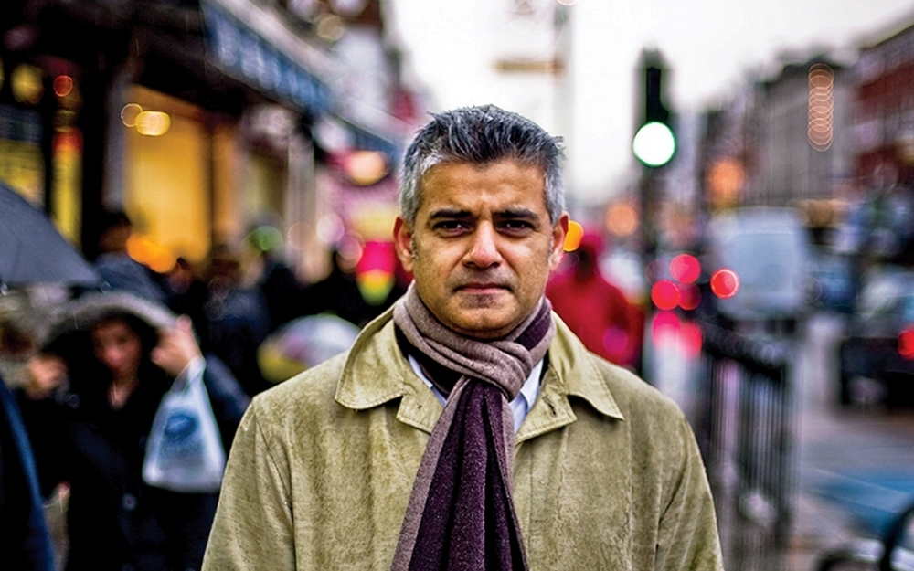Sadiq Khan,  Photo by NewStatesman