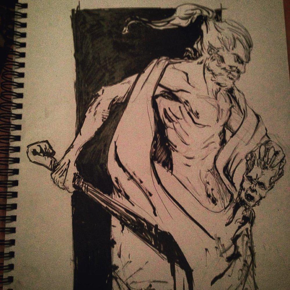 No.2 pushed it more #arthabit #ink #inktober #drawing #sketching