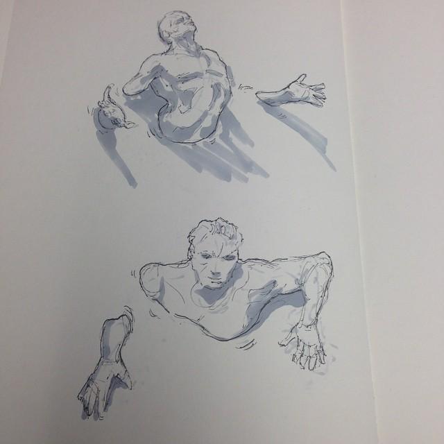 #inktober #art #drawing #illustration #sketch #sketchbook #marker #copic #ink