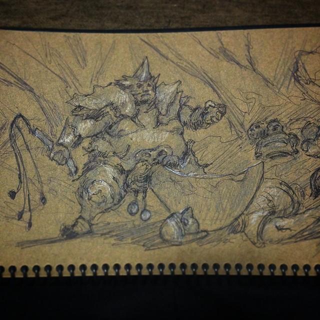 #study #masterstudy #svetlinvelinov #art #illustration #drawing #sketching #blackblade #fanart
