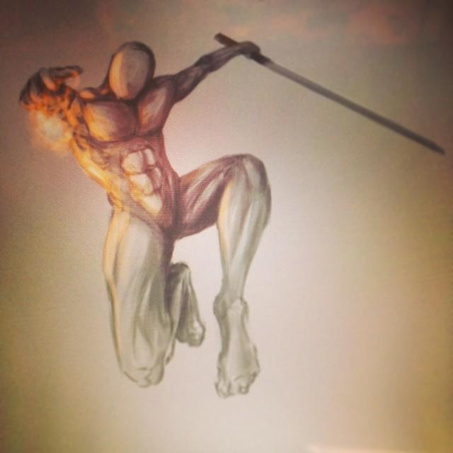 #anatomy #painting #art #illustration #drawing #dynamic #pose #study #fun