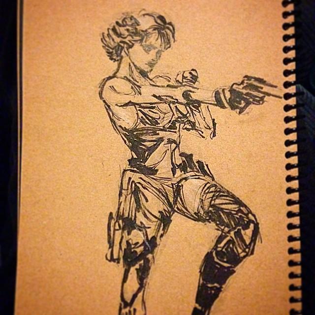 #mgs #metalgearsolid #sketching #masterstudies #art #illustration #fanart #draweveryday #sketchbook